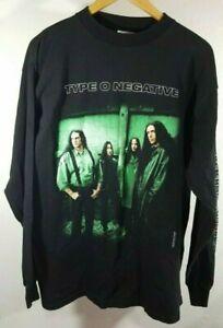 Type O Negative Skeleton Crew 4 Dicks From Boston L/S T Shirt XL 1999 Rare VGC