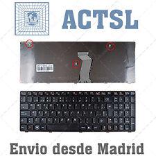 TECLADO ESPAÑOL para PORTATIL Lenovo Ideapad G580 Black Frame Black (For Win8)