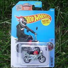 RED Honda Monkey Z50 2016 HW Moto 5/5. DHP16. New in Package!