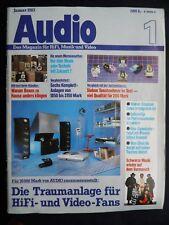 Audio 1/83, REVOX B 791,jvc QL y55f, DENON DP F 51,cec 9003, TELEFUNKEN T 200, STERE
