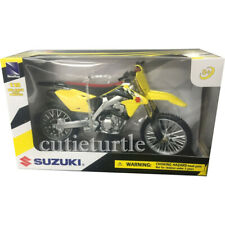 New Ray 2014 Suzuki RM-Z450 Diecast Bike Motorcycle 1:12 Yellow 57643