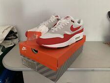 Nike Air Max 1 Anniversary  White Red UK 9 US 10