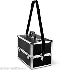 Portable Travel Lockable Cosmetic Beauty Make Up Case Nail Tech Hair Carry Box