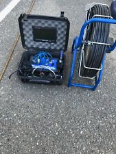 Probuilt Tools sewer snake camera reel and tft color monitor