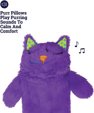 Plush Cat Pillow Soft, Soothing, and Comforting Cat Toys Kitty Purr Pillow