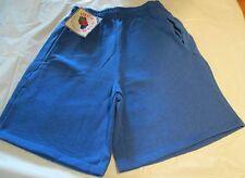 Fruit of the loom Sweat Short Large Royal Blue Color 2 pocket 50/50 Vintage