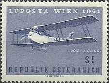 Timbre Avions Autriche PA62 ** lot 11014