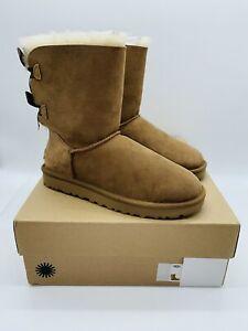 UGG Women's BAILEY BOW II Warm Fashion Boots 1016225 - Chestnut