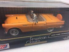 AMERICAN CLASSICS 1956 Ford Thunderbird 1:24 scale Orange #73200AC