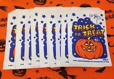 Vintage Halloween Candy Bags 24