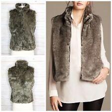 Banana Republic Vest Rich Luxe Fur Size XS Jacket Soft Comfortable Warm