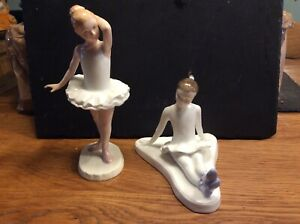 Royal Doulton Stage Struck And Little Ballerina Figurines