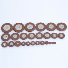 26pcs Alto Saxophone Pads Leather Sax Pad Woodwind Parts Replacement