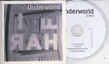 UNDERWORLD IF RAH RARE 4 TRACK PROMO CD [Karl Hyde]