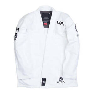 NEW RVCA BJJ Gi inspired by Shoyoroll Gi Brand New with Tags colors Black & Whit