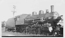 7C285 Rp 1930/40s Rutland Toluga & Northern Railroad Il Loco #337 exNycstL