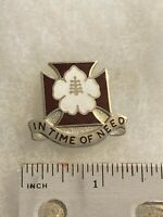 Authentic US Army 30th Field Hospital Unit DI DUI Pin Insignia 22M