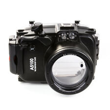40M Waterproof Underwater Camera & Lens Housing Case for Sony A5100 ILCE-5100