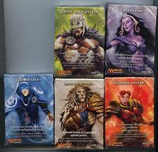 Magic the Gathering CCG Planeswalker Promo 30 Card Deck Set of 5 MINT 2010