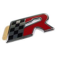 Seat R Schriftzug Logo Emblem badge Leon 1M Cupra