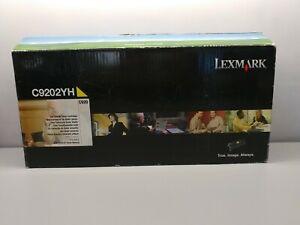 Lexmark C9202YH Yellow Toner Cartridge for C920. OPEN PACKAGE(UNUSED)