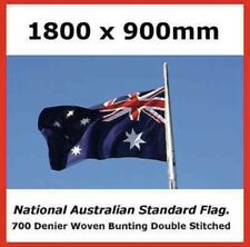 100%AUSTRALIAN MADE HEAVY DUTY FULLY WOVEN AUSTRALIAN STANDARD SIZE OUTDOOR FLAG