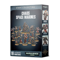 Start Collecting Chaos Space Marines Warhammer 40K NIB Shadowspear