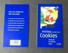 #Bk299 37¢ Christmas Cookies Booklet 3957-60 complete booklet fresh