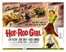 "Hot Rod Girl Movie Poster Mini 11""X17"""