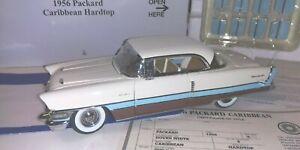 Danbury Mint 1956 Packard Caribbean Hardtop - 1:24 die cast
