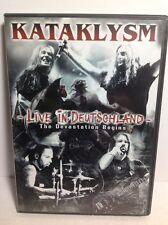 KATAKLYSM LIVE IN DEUTSCHLAND The Devastation Begins 2 DVD VENOM SLAYER EXODUS