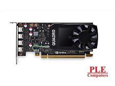 Leadtek Quadro P1000 640-CUDA Core 4GB GDDR5 Low-Profile 4x Mini DisplayPort [P1
