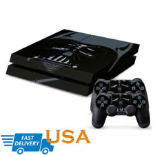 Darth Vader Decal Cover Skin Sticker for PlayStation 4 Console 2 Controller USA