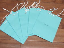 "Tiffany & Co Single ONE Blue Shopping Medium Gift Bags 9.75""x 8"" Bag For Jewelry"