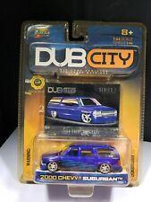 2002 JADA TOYS DUB CITY SERIES 1 2000 CHEVY SUBURBAN  - 1:64 - B3
