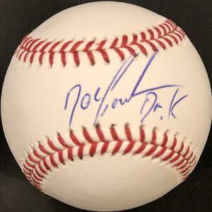 Dwight Gooden Autographed New York Mets Official MLB Baseball Beckett Coa B