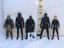Star Wars Action Figures Lot #6, Luke SKywalker with friends