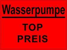 Wasserpumpe für Audi A6 / AVANT / quattro 98 (1H) 1.8 20v Turbo + 1.8i BJ 97--