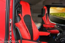 MERCEDES Set Of Seats Covers For Mercedes Actros MP4 Red