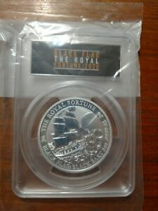 2020 tuvalu black flag the royal fortune 5 ounce Perfect 70