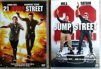 21 JUMP STREET (2012)  + 22 JUMP STREET (2014) 2 DVD EX NOLEGGIO  - SONY