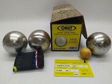 3 Boules de Pétanque OBUT Loisir Junior Point 65mm 500g - NEUF