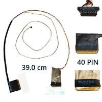 Nappe d'écran pour Asus X750 vidéo câbles LVDS 40 Pins