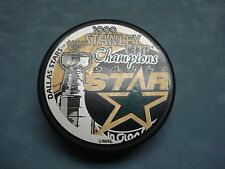 1999 STANLEY CUP CHAMPIONS DALLAS STARS NHL OFFICIAL LICENSED PUCK
