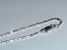 14K WHITE GOLD FANCY NECKLACE CHAIN