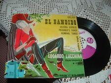 """EDOARDO LUCCHINA """" BANDIDO + 3  """" E.P.  ITALY'5?    PETER BESSO"""