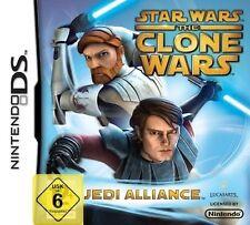 Nintendo DS NDS DSI lite Star Wars The Clone Wars Jedi Allianz NEU