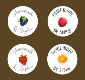 Jam Marmalade Preserve Labels Personalised Bespoke Custom Made