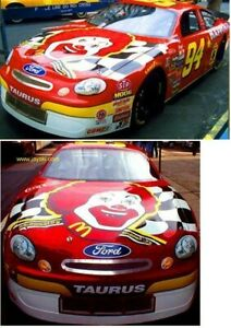 YOU BUILD NASCAR's 1998 McDonalds Happy Meal Taurus #94 Bill Elliott