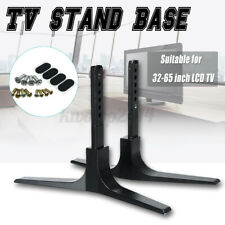 2pc 32'' - 65'' Universal Table Top TV Stand Base LCD HD LED Flat Screens Holder